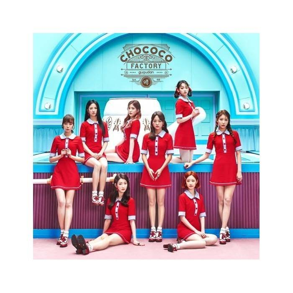 Gugudan - 1st Single Album Chococo Factory