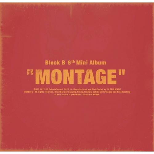 Block B - 6th Mini Album: Montage CD