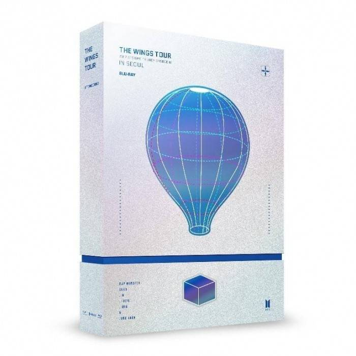 BTS - 2017 BTS Live Trilogy EPISODE III THE WINGS TOUR in Seoul CONCERT Blu-ray