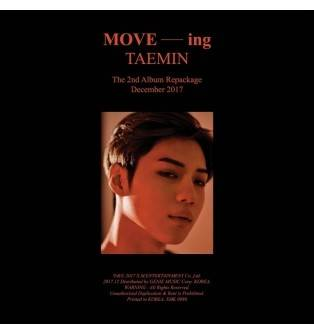 Taemin - 2nd Album Repackage: MOVE-ing CD