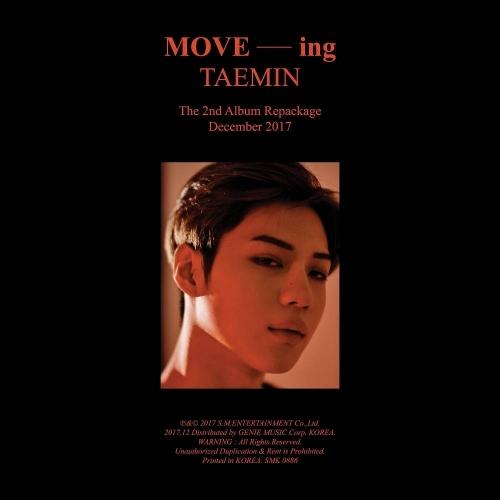 Taemin - 2nd Album Repackage MOVE-ing