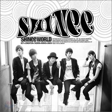 SHINee - 1st Album: The SHINee World (Version B) CD