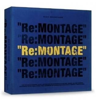 Block B - 6th Mini Album Repackage Re:MONTAGE CD