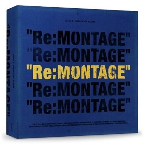 Block B - 6th Mini Album Repackage Re:MONTAGE CD
