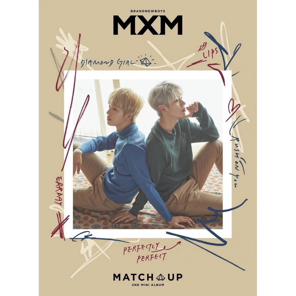 MXM (BRANDNEWBOYS) - 2nd Mini Album MATCH UP [X ver.]