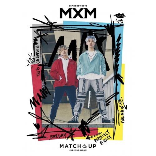 MXM (BRANDNEWBOYS) - 2nd Mini Album MATCH UP [M ver.]