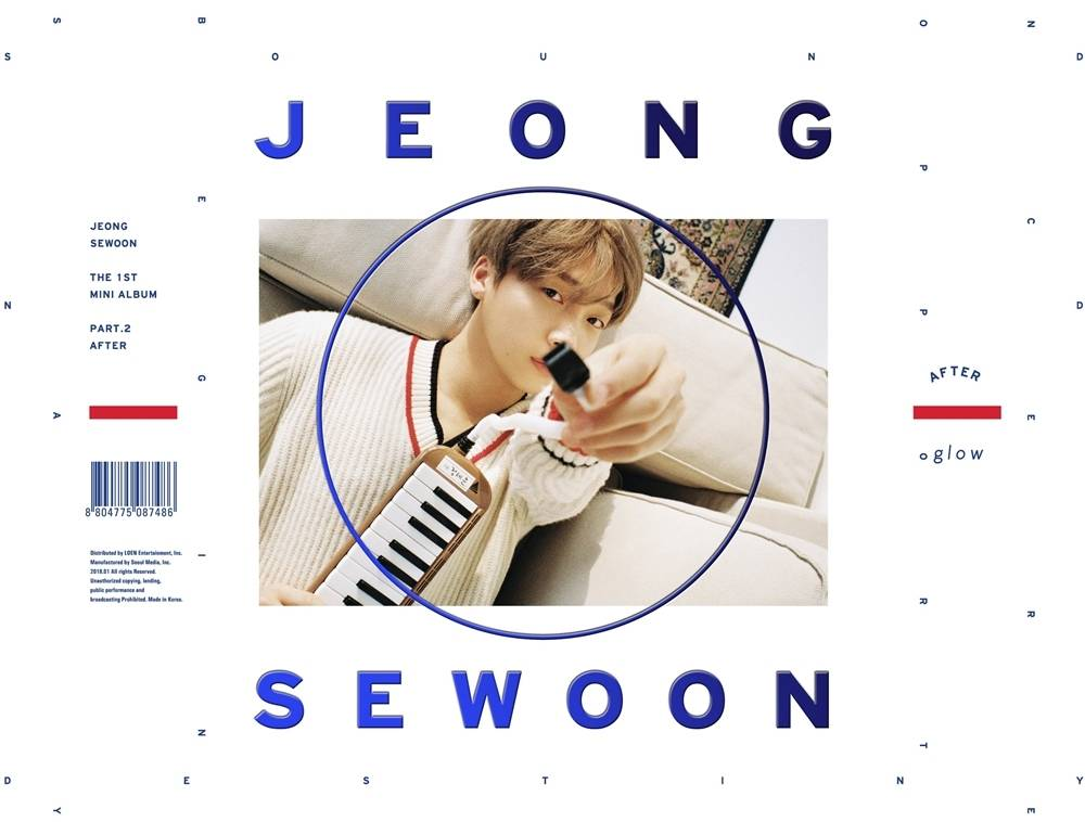 Jeong Sewoon - 1st Mini Album Part. 2: After CD (Glow Version)