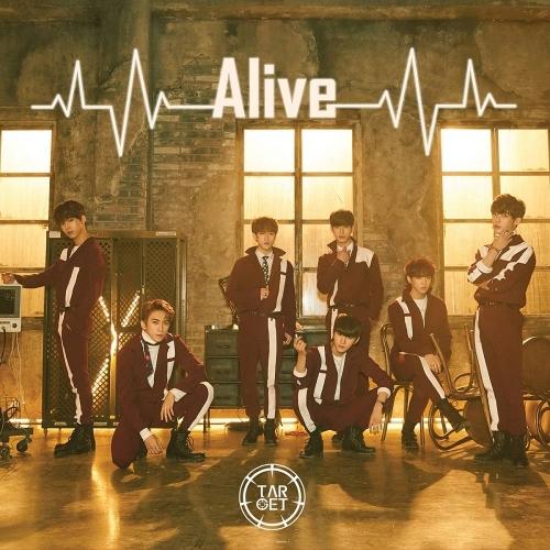 TARGET - 1st Mini Album: Alive CD