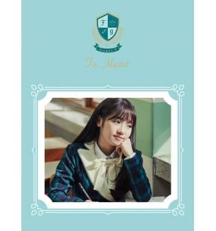 Fromis_9 - Debut Album: To. Heart CD (Green Version)