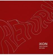 iKON - 2nd Album: Return CD (Red Version)