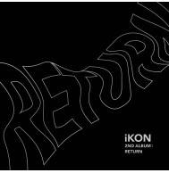 iKON - 2nd Album: Return CD (Black Version)