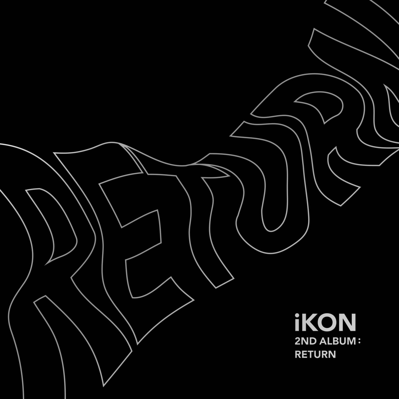 iKON - 2nd Album: Return CD (Black Version)
