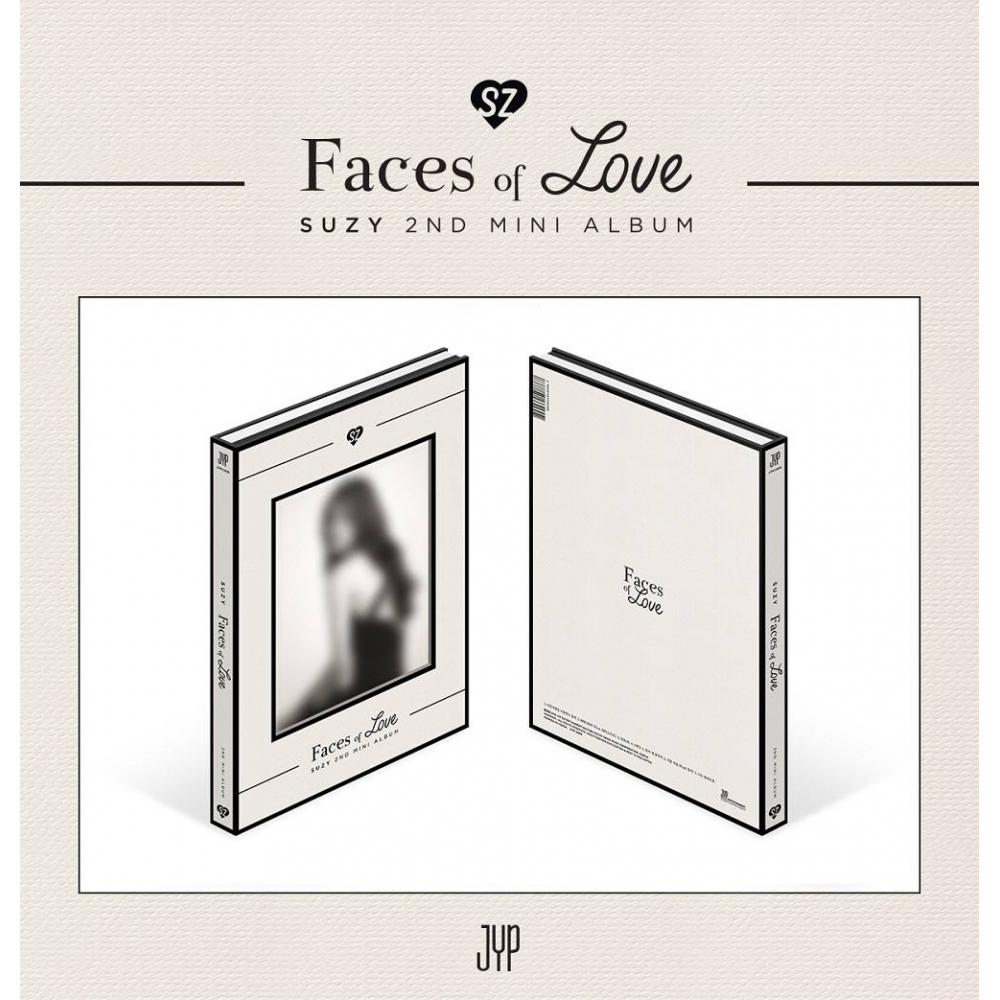 Suzy - 2nd Mini Album Faces of Love