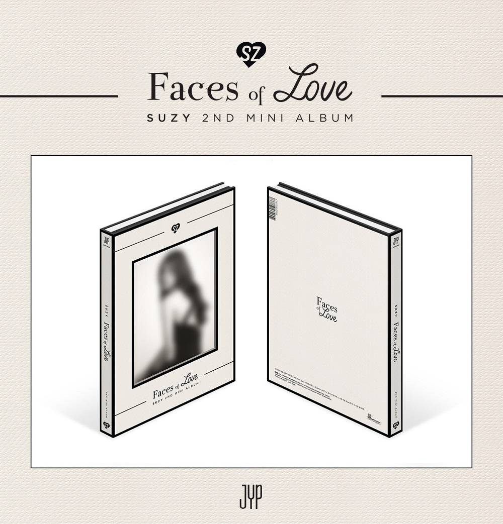 Suzy - 2nd Mini Album: Faces of Love CD