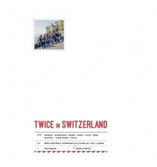 TWICE - TV5 TWICE in Switzerland Photobook