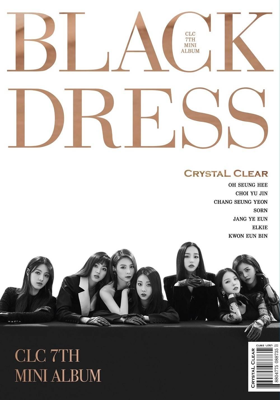 CLC - 7th Mini Album: Black Dress CD