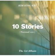 Kim Sung Kyu (Infinite) - 1st Album 10 Stories (Normal Ver.)