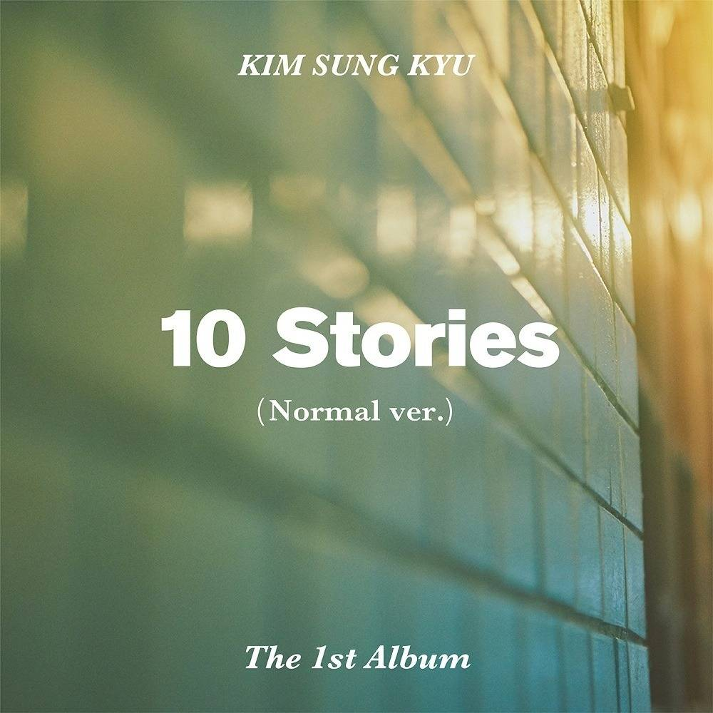 Kim Sung Kyu (Infinite) - 1st Album: 10 Stories CD (Normal Version)