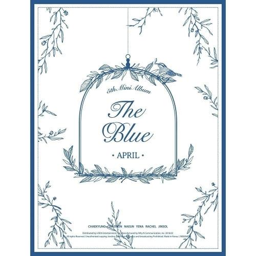 April - 5th Mini Album: The Blue CD