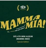 SF9 - MAMMA MIA! CD (Special Edition)