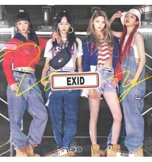 EXID - 2nd Single Album: Do It Tomorrow CD