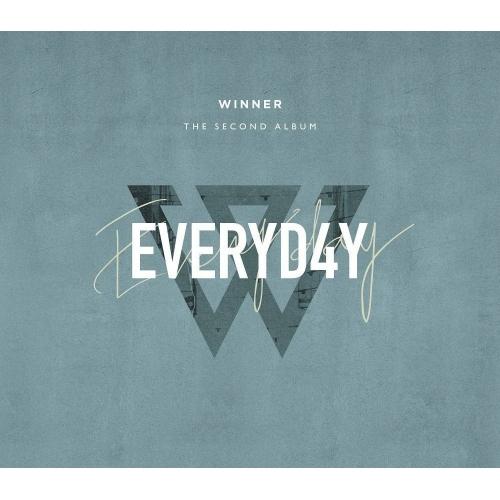 WINNER - 2nd Album: Everyd4y CD (Day Version)