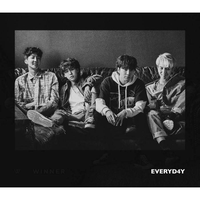WINNER - 2nd Album Everyd4y (Night Ver.)