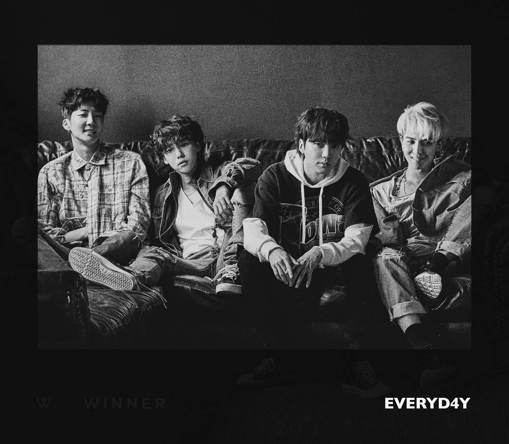 WINNER - 2nd Album: Everyd4y CD (Night Version)