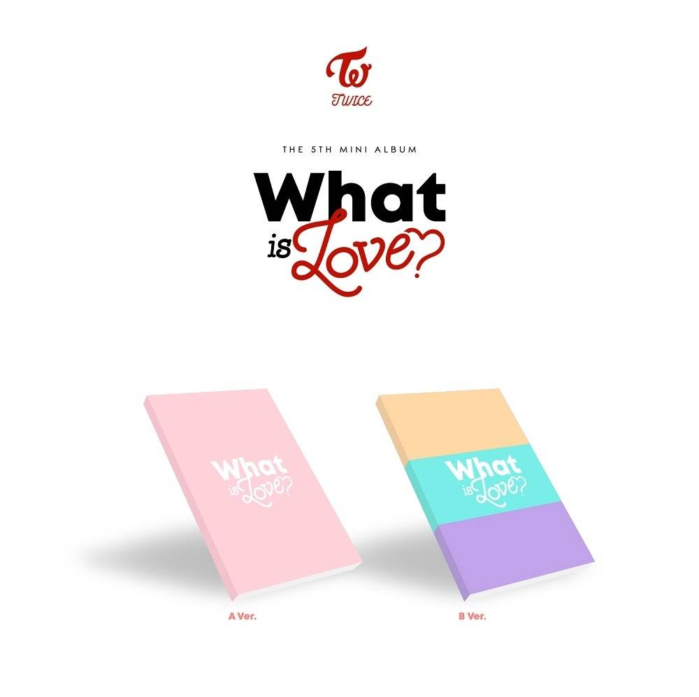TWICE - 5th Mini Album: What Is Love? CD