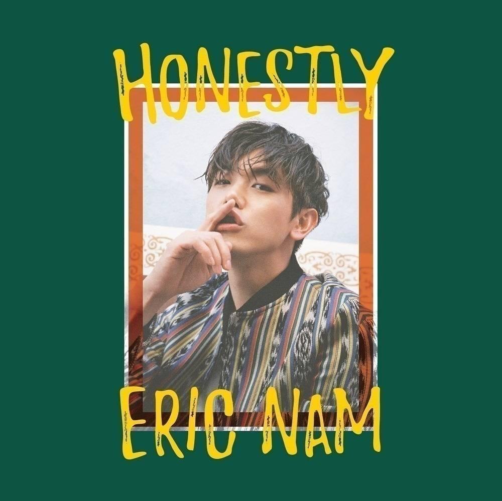 Eric Nam - 3rd Mini Album: Honestly CD