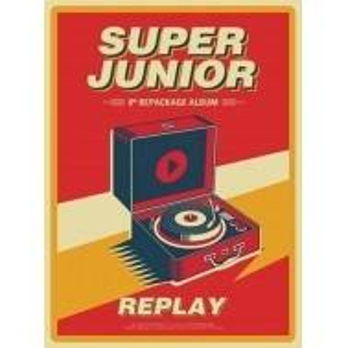 Super Junior - 8th Album Repackage Replay