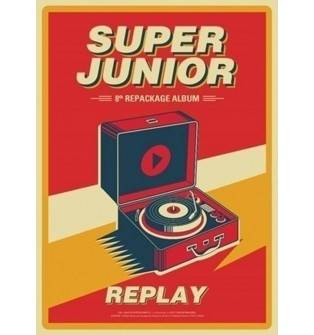 Super Junior - 8th Album Repackage: Replay CD