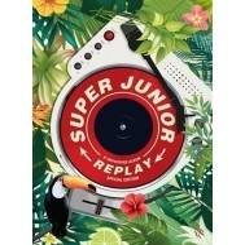 Super Junior - 8th Album Repackage Replay (Special Edition)