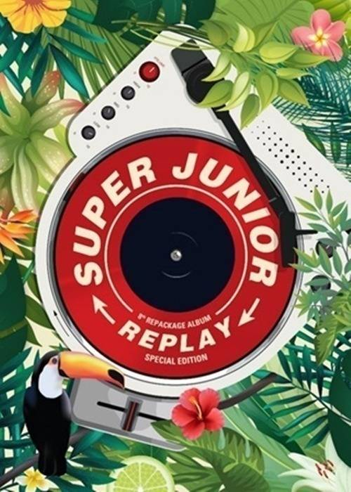 Super Junior - 8th Album Repackage: Replay CD (Special Edition)