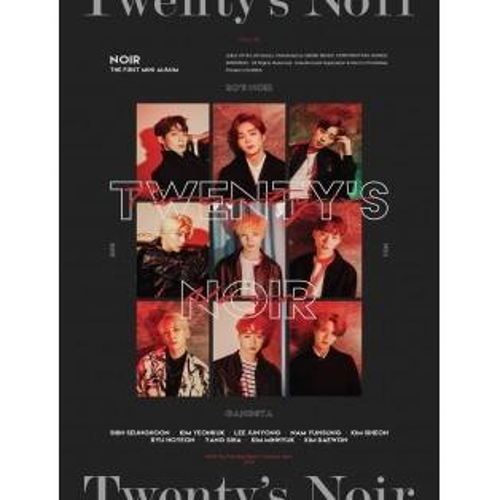 NOIR - 1st Mini Album Twenty's NOIR