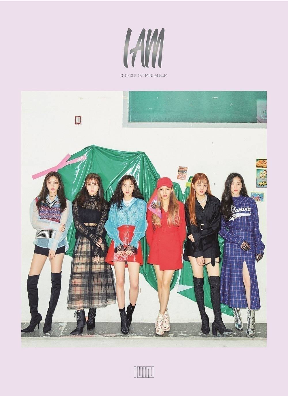 (G)I-DLE - 1st Mini Album: I AM CD