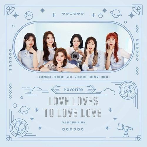 Favorite - 2nd Mini Album Love Loves To Love Love