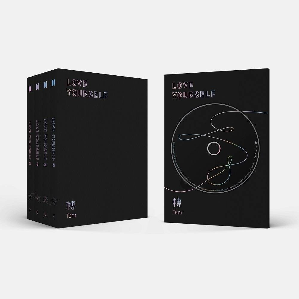 BTS - 3rd Album: LOVE YOURSELF 轉 Tear CD