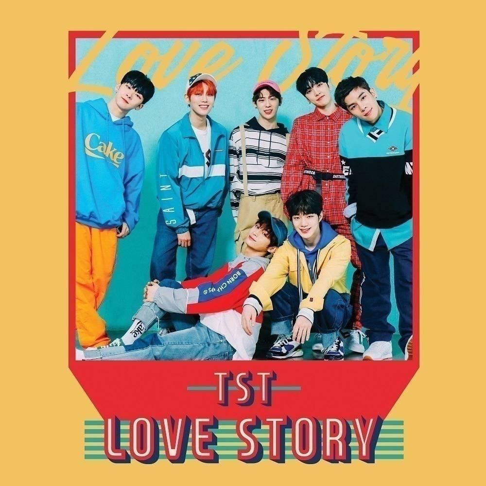 Top Secret - 1st Single Album Love Story