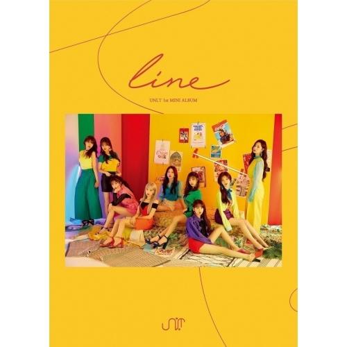 UNI.T - 1st Mini Album: line CD