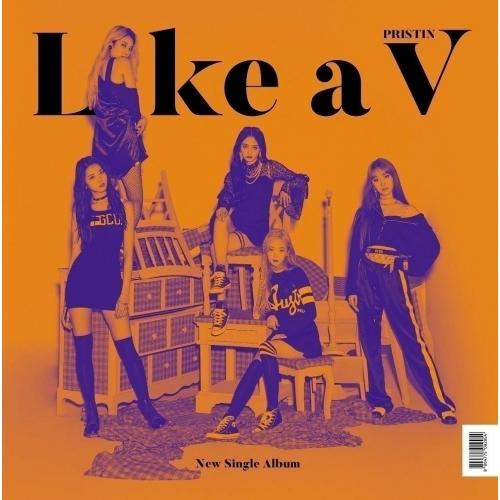 Pristin V - 1st Single Album: Like a V CD