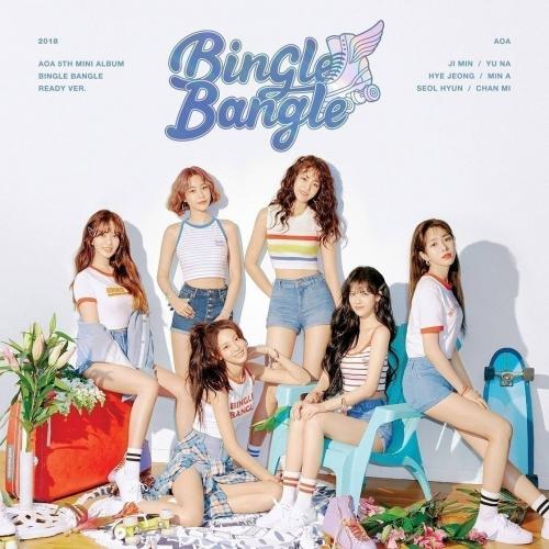 AOA - 5th Mini Album Bingle Bangle (B: Ready Ver.)