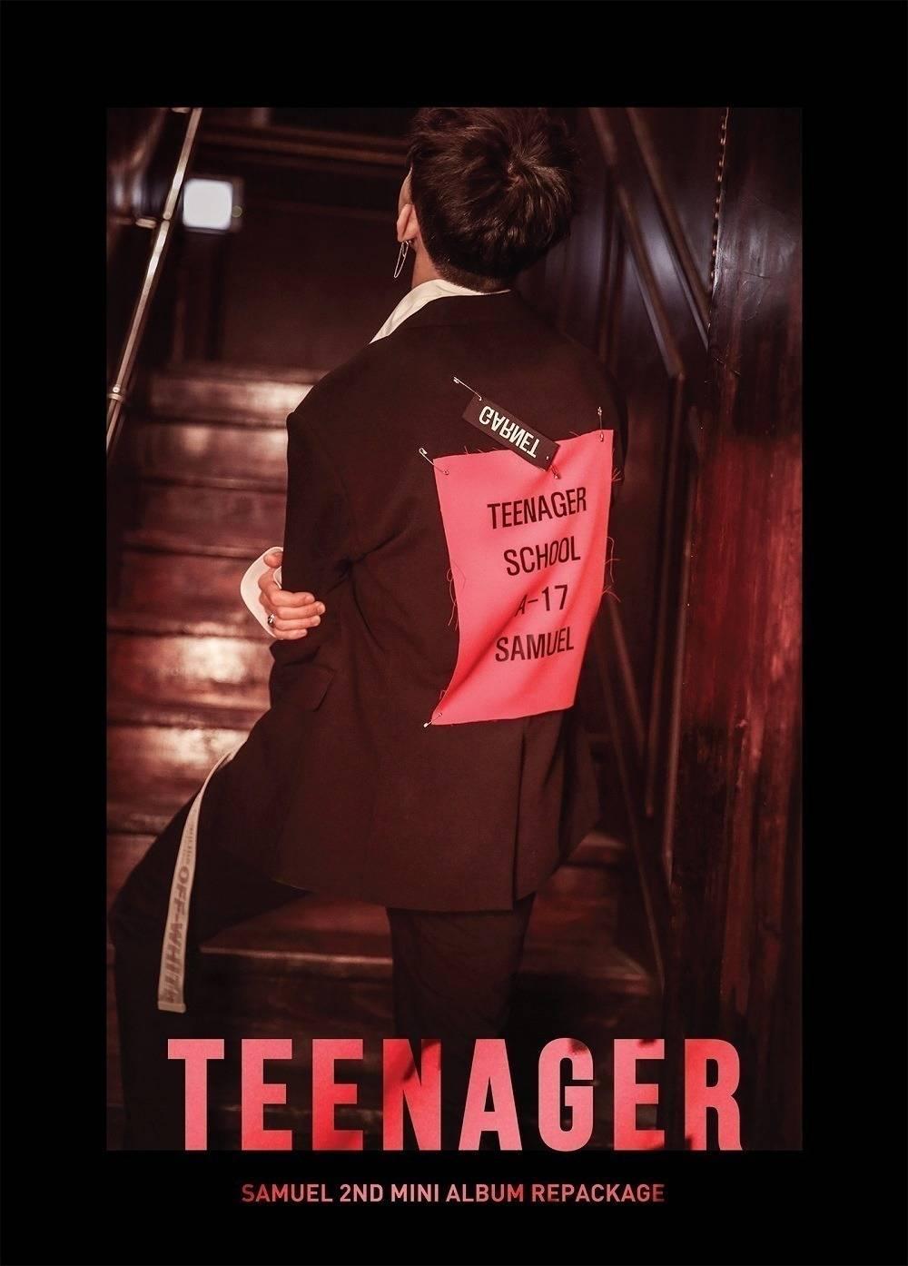 Samuel - 2nd Mini Album Repackage: Teenager CD