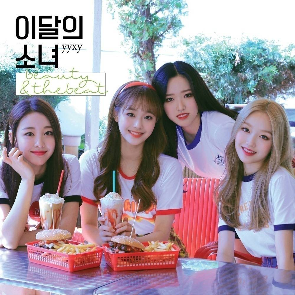 LOONA yyxy - beauty & thebeat CD (Normal Edition)