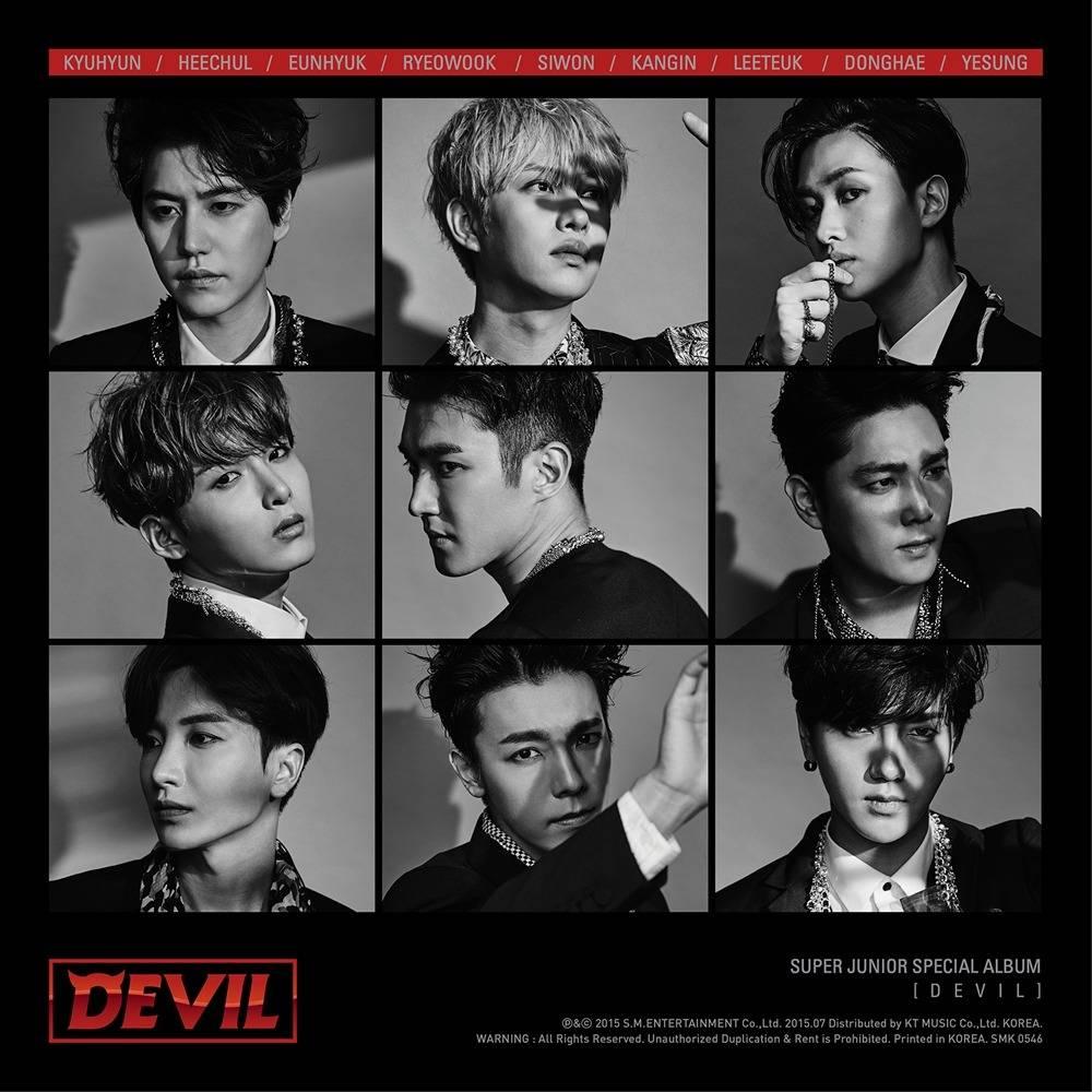 Super Junior - Special Album: Devil CD