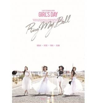 Girl's Day - 2nd Album: Love (Group Version) CD