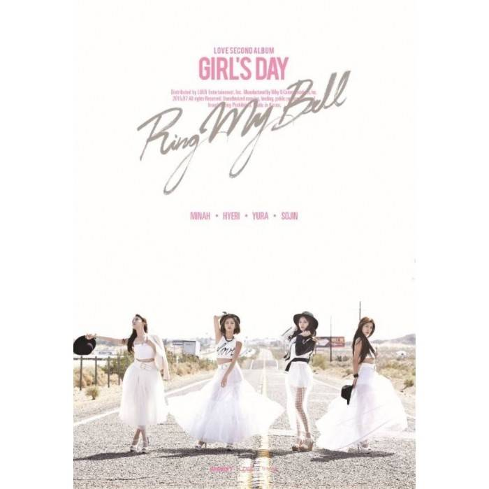 Girl's Day - 2nd Album Love (Group Ver.)
