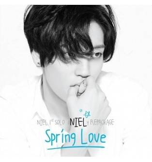 Niel (Teen Top) - 1st Solo Repackage: Spring Love CD