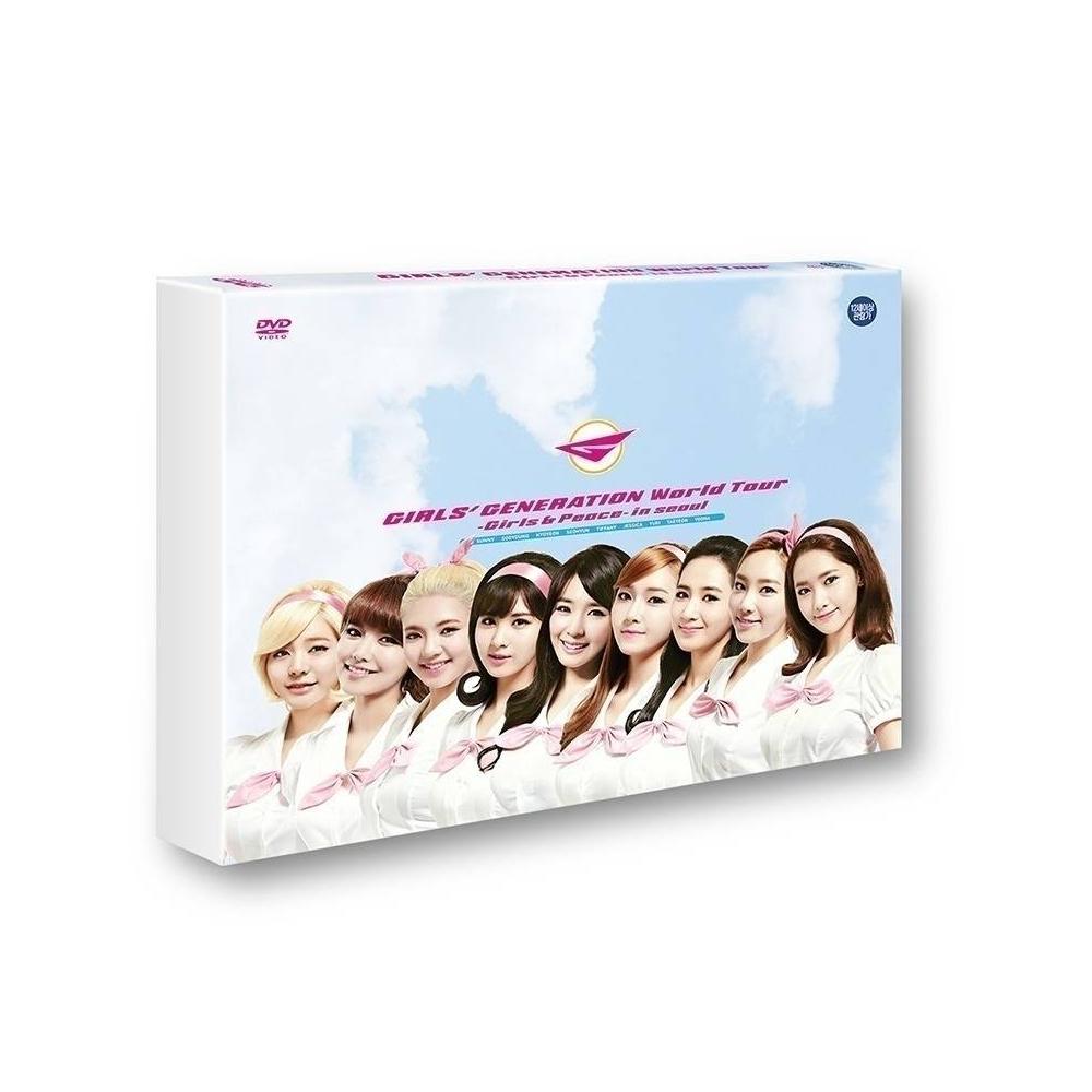 Girls' Generation - World Tour Girls & Peace in Seoul DVD