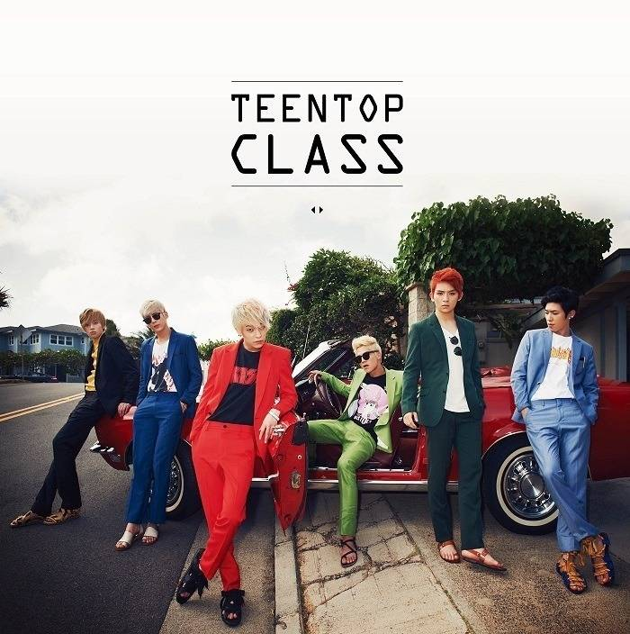 Teen Top - 4th Mini Album: Teen Top Class CD